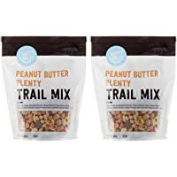 Amazon Brand - Happy Belly Peanut Butter Plenty Trail Mix, 16 oz (Pack of 2)