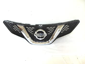 2011-2016 Nissan Rogue S /& SV Front Grill Chrome