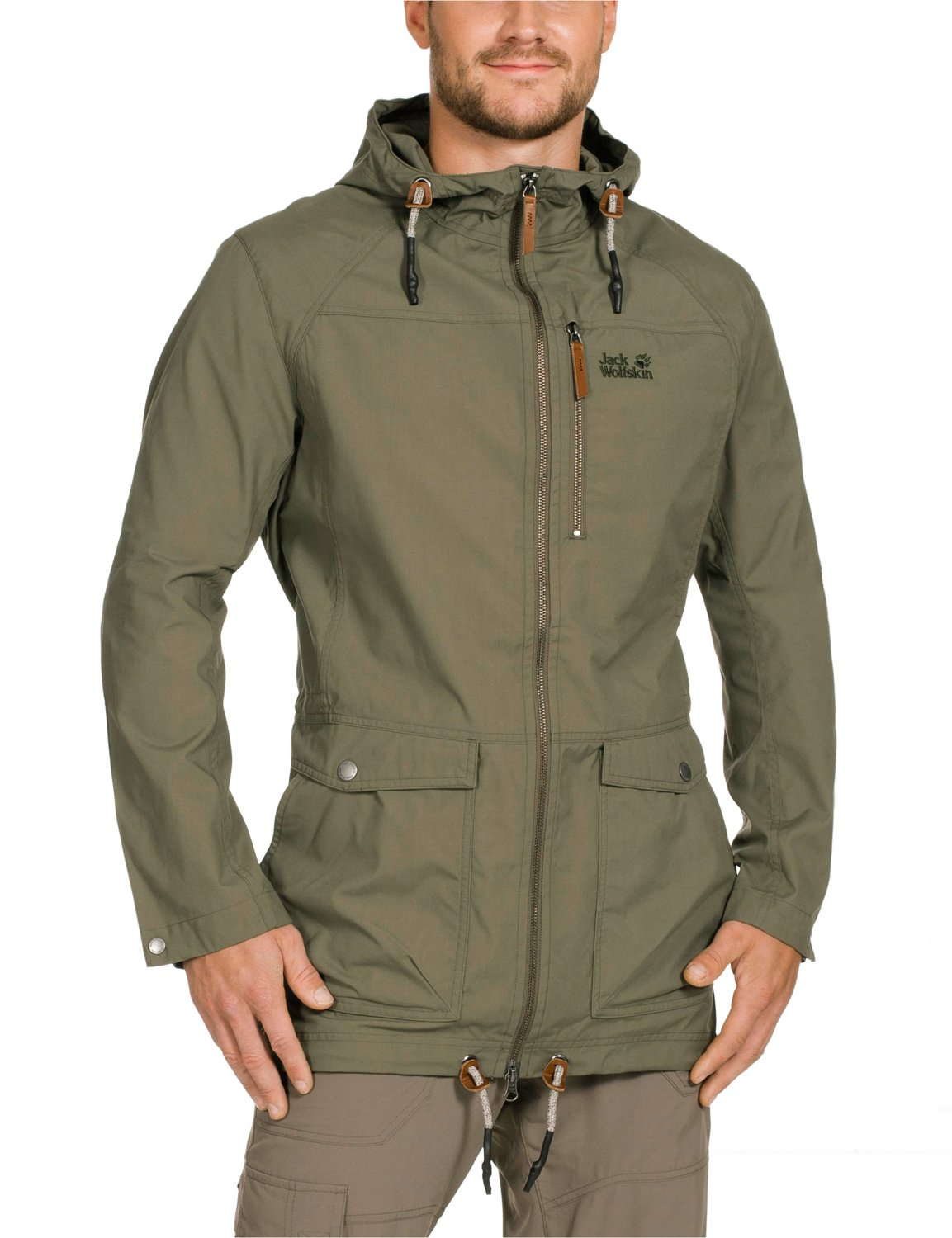 Jack Wolfskin Water Repellent Herren Men's Outdoor Parka Jacket: Jack  Wolfskin: Amazon.co.uk: Sports & Outdoors
