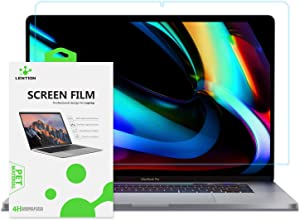 LENTION Screen Protector for 2019 MacBook Pro (16-inch, with Thunderbolt 3 Ports), Model A2141, with Touch Bar, HD Clear Protective Film with Hydrophobic Oleophobic Coating
