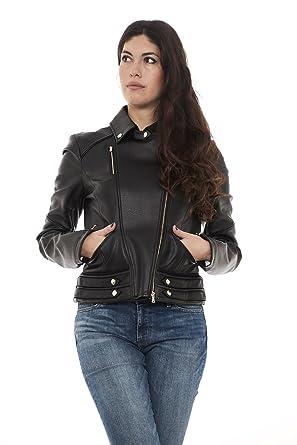 07eaf50cda5 PATRIZIA PEPE Women's Long Sleeve Jacket Black Black UK 14: Amazon ...