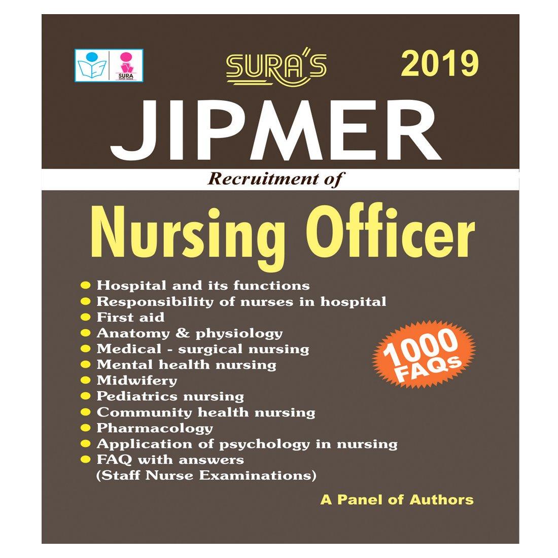 Amazon in: Buy Jipmer Nursing Officer Exam Books 2018 Book