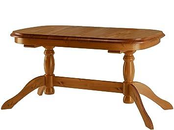 Loft24 Esstisch Oval Esszimmertisch Küchentisch Säulentisch Tisch