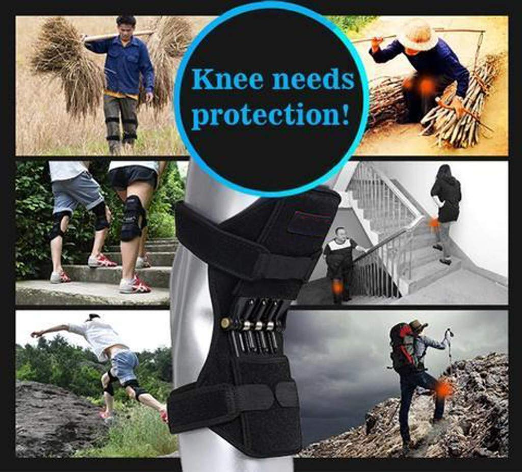 HAPPIShare Heavy Duty Foam Padding Kneepads, Strong Double Straps and Adjustable Easy-Fix Clips,1 Pair Knee Pad (Black3, ONE Size) by HAPPIShare Kneepads (Image #7)