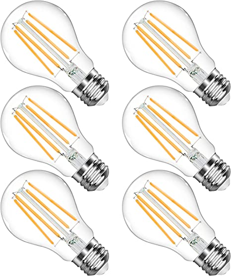 60 W LED Standard A Bulb with E26 Base 1 Pack