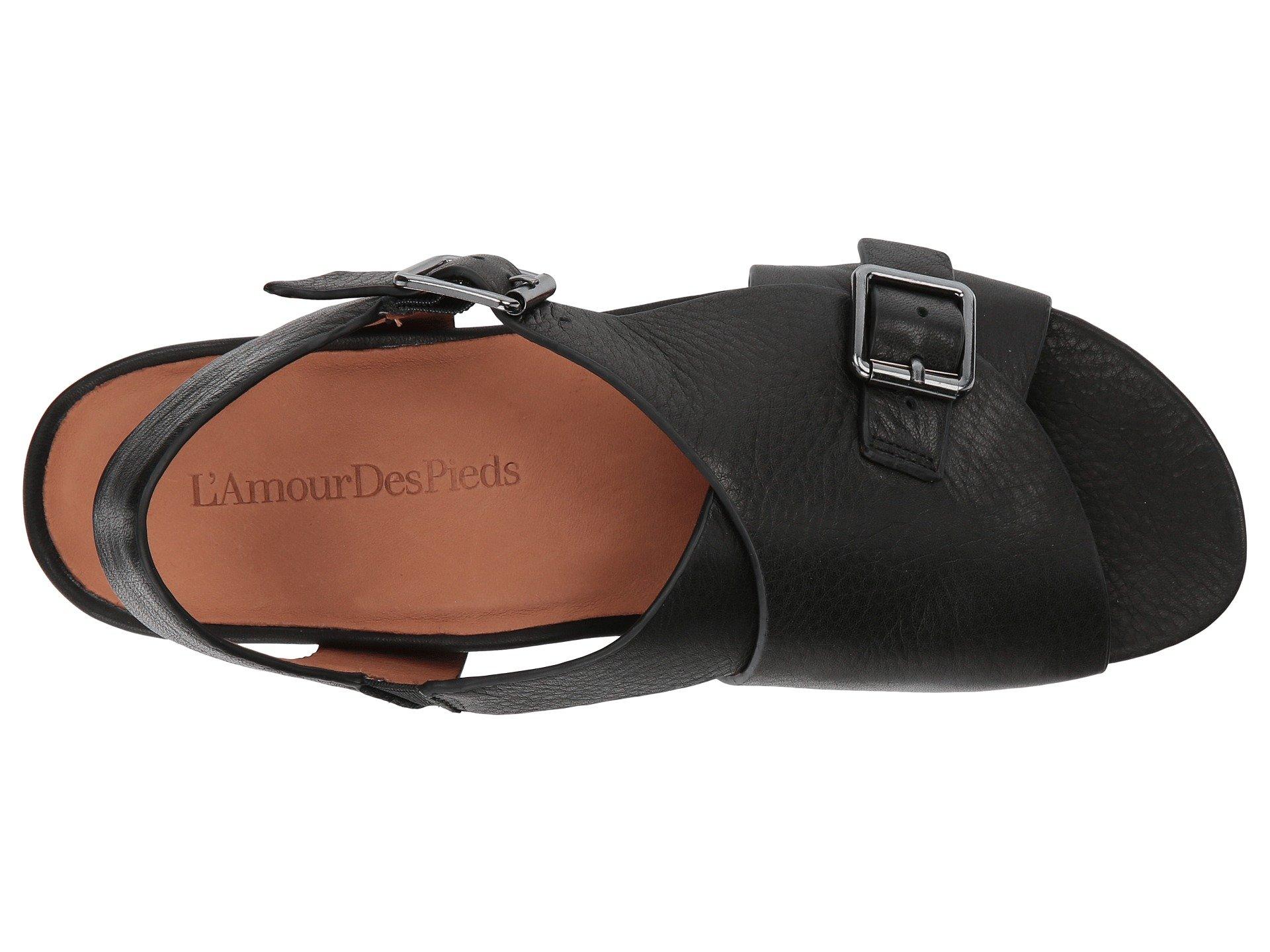 L'Amour des Pieds Women's Dordogne Black Lamba 6.5 M US by L'Amour des Pieds (Image #9)