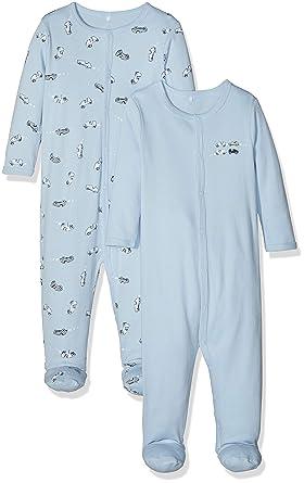 2179d4ad88ea8 Name It Grenouillère Mixte bébé (Lot de 2)  Amazon.fr  Vêtements et  accessoires