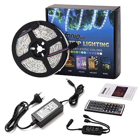 Tira LED 12v Luces LED - Tiras LED 5m 150 Leds 5050 SMD Tira LED RGB