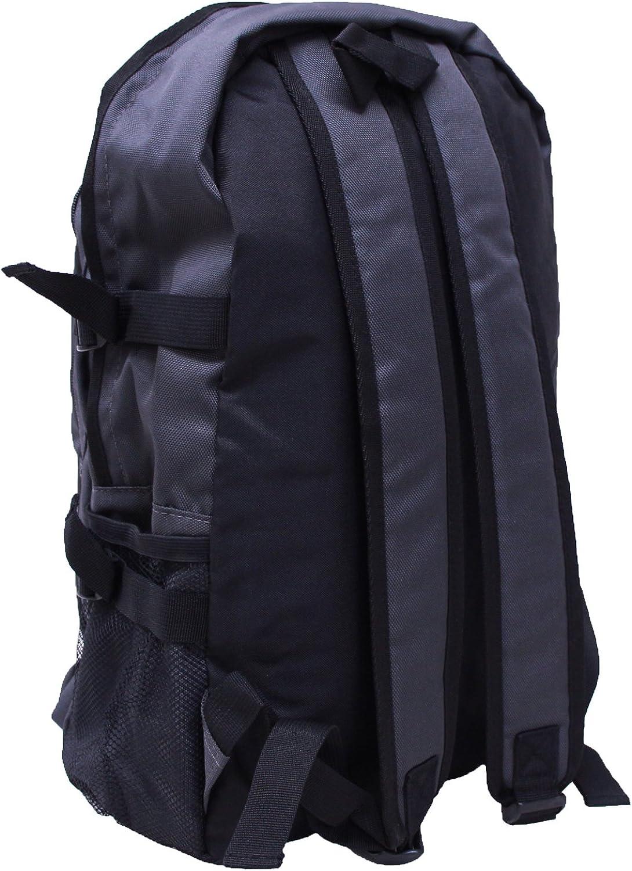 EXAS Polyester Mesh Side Pocket Backpack Daypack