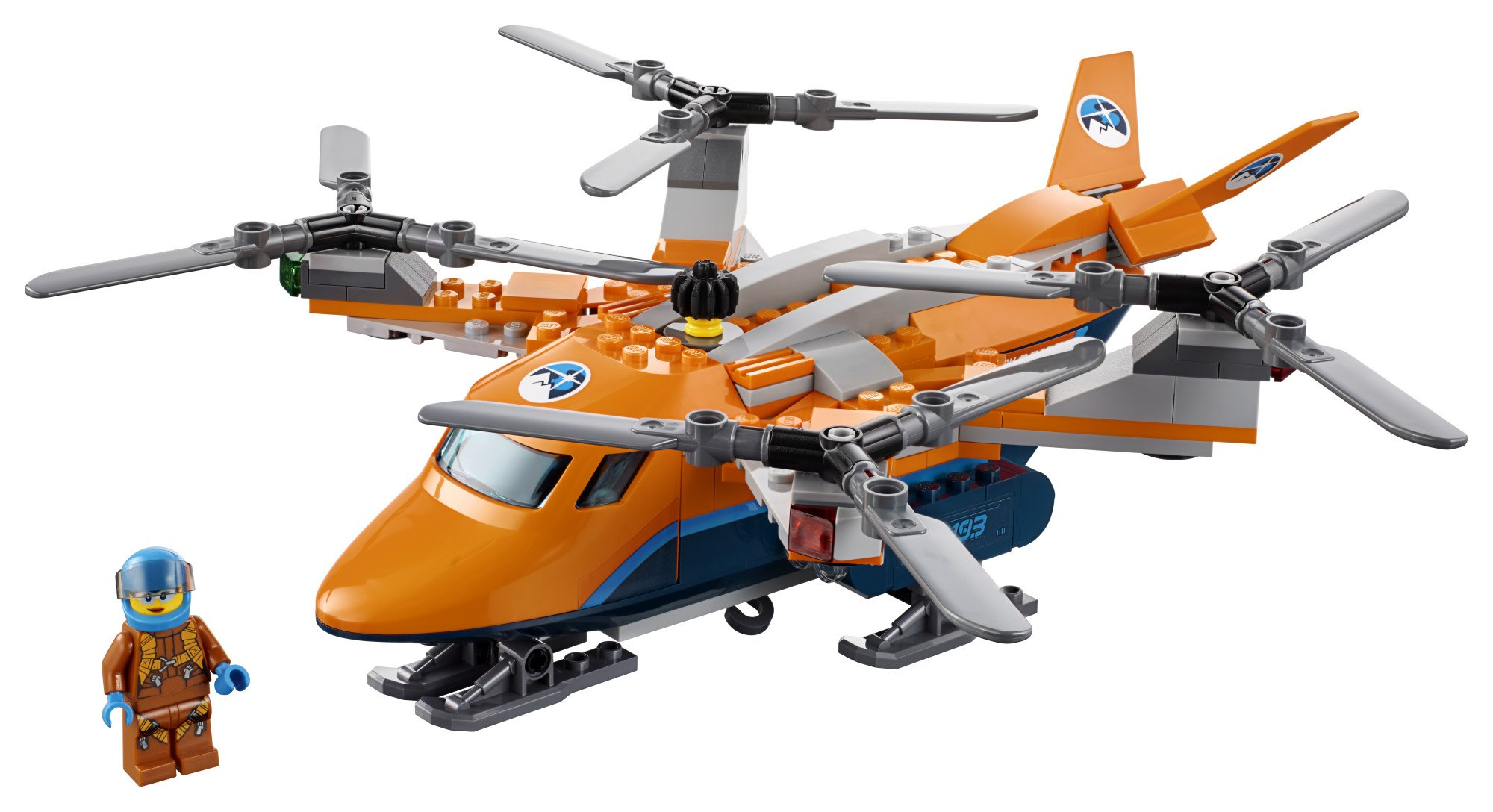 LEGO City Arctic Air Transport 60193 Building Kit (277 Piece) by LEGO (Image #6)
