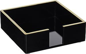 Paperproducts Design Holder Beverage Napkin Caddy, Black