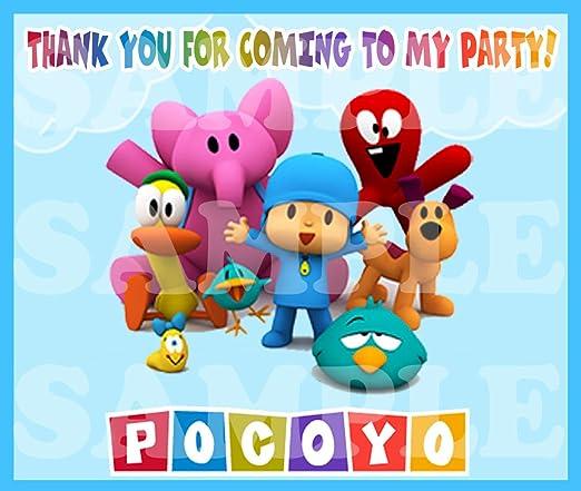 Amazon.com: Pocoyo - Pegatinas de etiquetas para regalos de ...