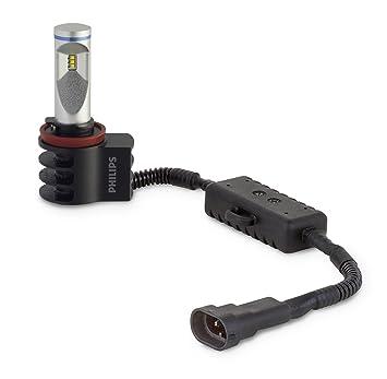 Philips X-treme Ultinon LED 12834UNIX2 bombilla para coche H11 9,3 W - Bombilla para coches (9,3 W, H11, LED, 6000 K): Amazon.es: Coche y moto