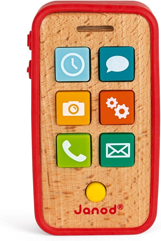 Janod- Teléfono sonoro (J05334): Amazon.es: Juguetes y juegos