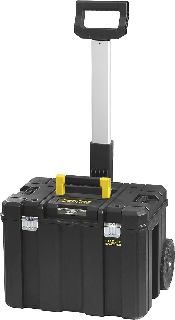 STANLEY FATMAX FMST1-75753 Caja de almacenamiento móvil PRO-STACK, Negro: Amazon.es: Bricolaje y herramientas