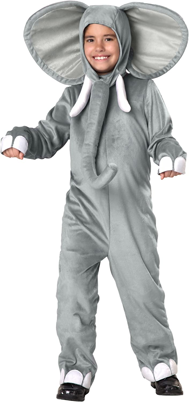 Childrens Size Elephant Costume