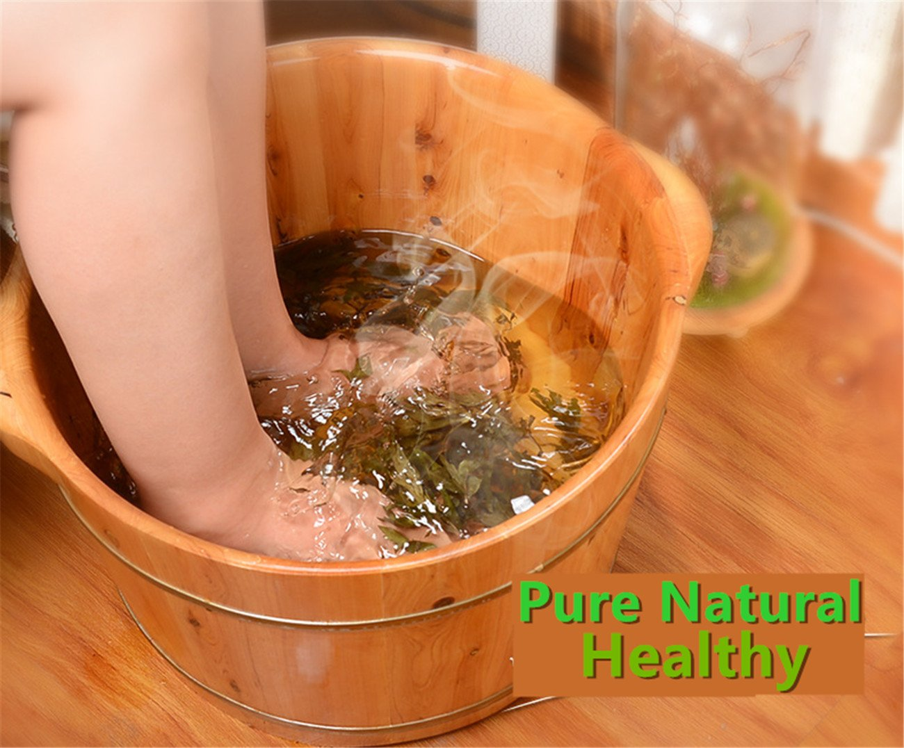 Zzooi Pure Natural Foot Bath Mugwort Dry Wormwood Suitable for Foot Soak 500g//17.6oz