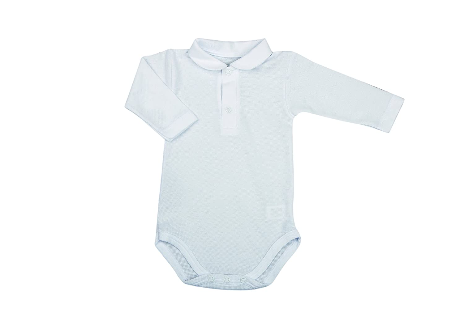 BabyVip - Body Bebé Manga Larga Polo Pique