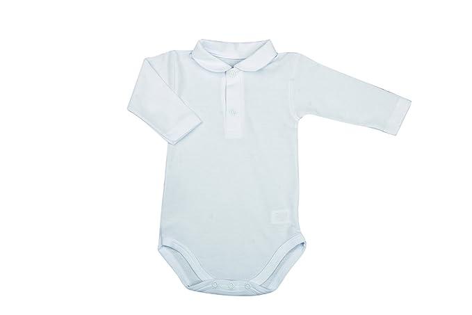BabyVip - Body Bebé Manga Larga Polo Pique: Amazon.es: Ropa y ...