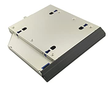 Nimitz 2nd HDD SSD Hard Drive Caddy for Hp Elitebook 8560p 8570p with  Original Faceplate/bezel