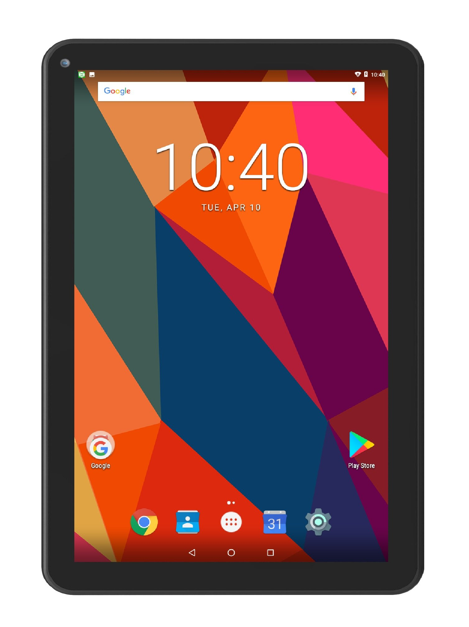 Astro Tab M10-10 Inch Quad Core 64 bit Android 7.0 Tablet PC with HD IPS Display 1280 x 800, 1GB RAM, 16GB Storage, Bluetooth 4.0, 10 inch Screen, Google Play (GMS & FCC Certified)