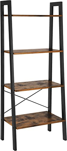 VASAGLE Industrial Ladder Shelf
