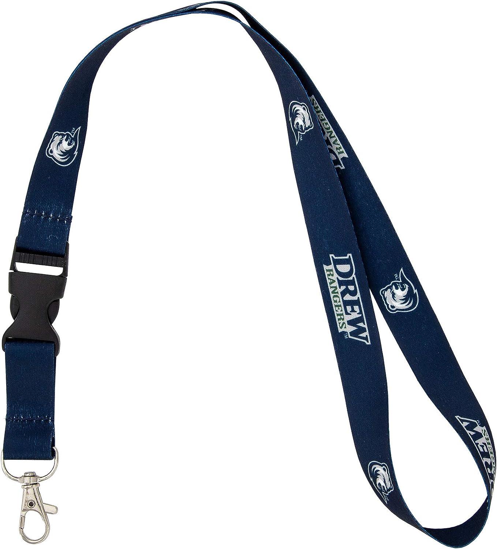 Radford University Highlanders NCAA Car Keys ID Badge Holder Lanyard Keychain Detachable Breakaway Snap Buckle