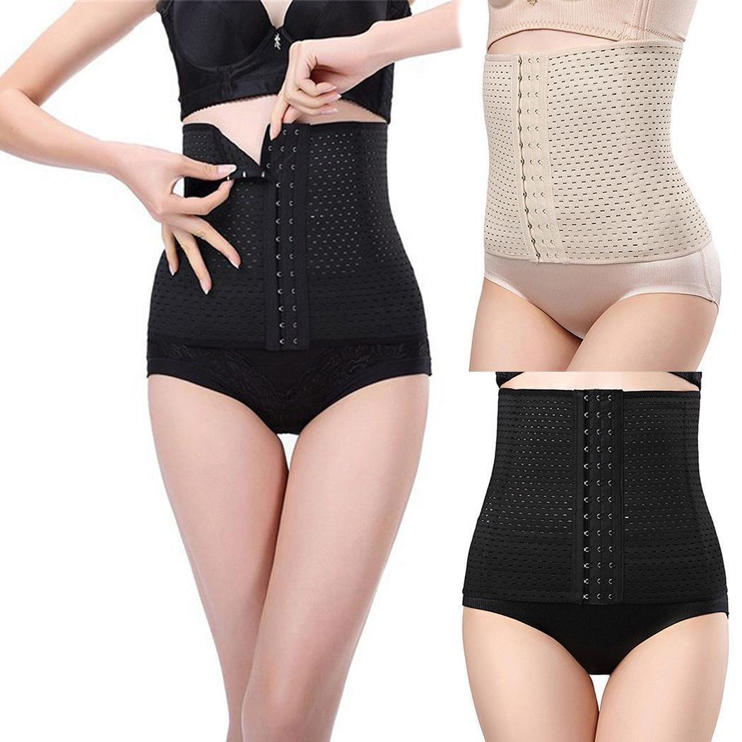 b9fd9eb767 Amazon.com  Yiiena Women s Waist Trainer Belt(Upgraded)-Waist Cincher  Trimmer-Slimming Tummy Tuck Body Shaper-for Fitness Weight Loss  Health    Personal ...