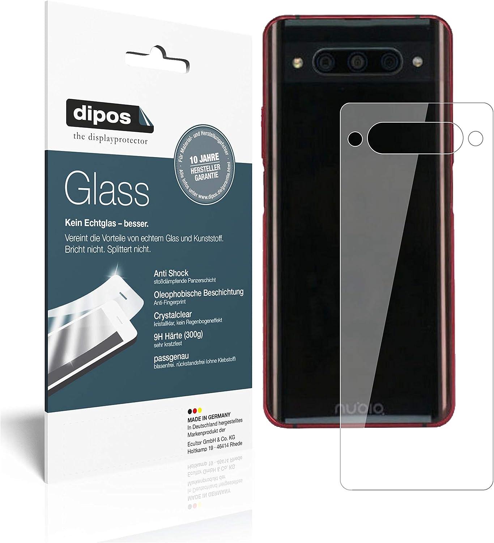 dipos I 2X Protector de Pantalla Compatible con ZTE Nubia Z20 Trasero Vidrio Flexible Cristal Proteccion 9H: Amazon.es: Electrónica