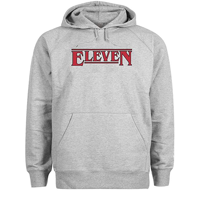 Friendly Bees Eleven by Stranger Things TV Series Gris Sudadera con Capucha Unisex X Large: Amazon.es: Ropa y accesorios