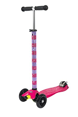 Maxi Micro T Bar - Patinete personalizable, color rosa ...