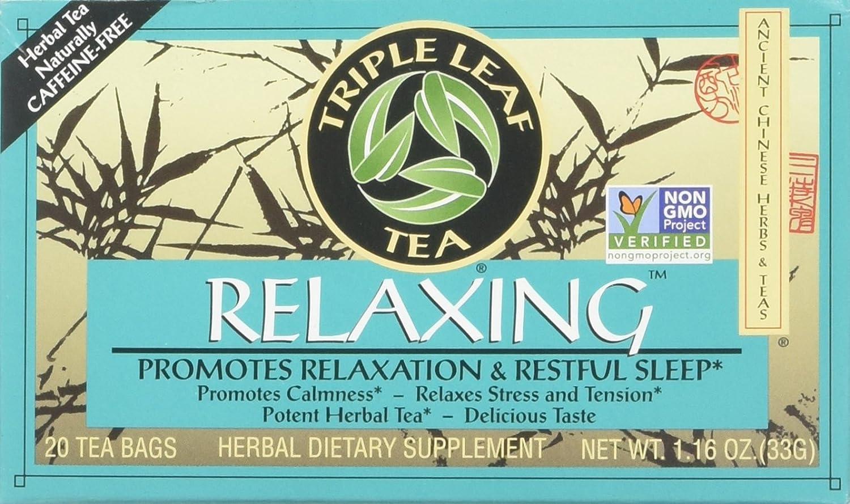 Chinese Medicinal Tea-Relaxing Herbal Tea Triple Leaf Tea