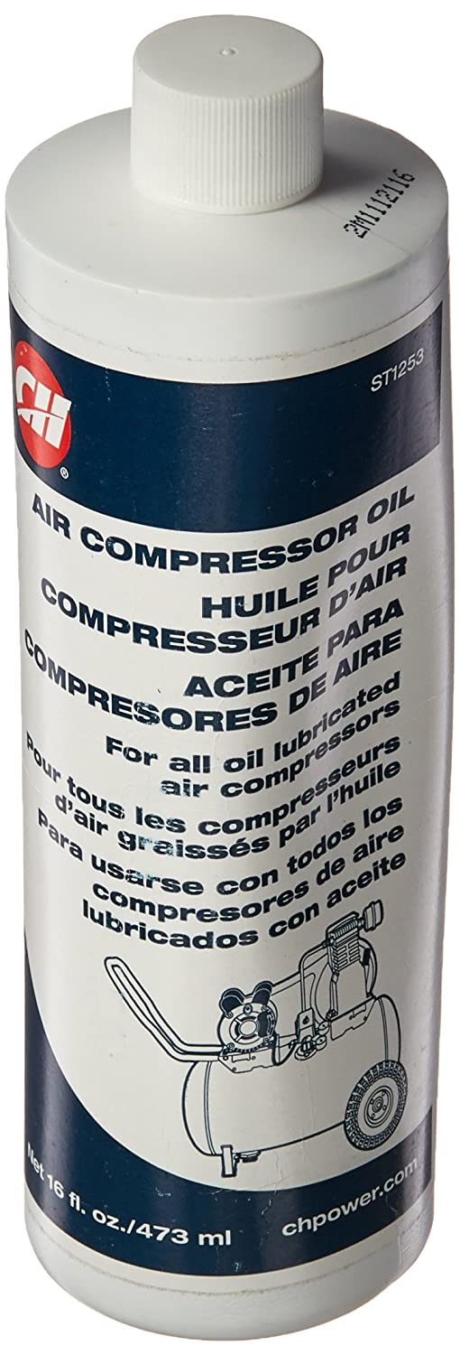 Campbell Hausfeld ST1253 Air Compressor Oil - 16 Oz, NA - Air Compressor Accessories - Amazon.com
