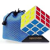 MoYu Aolong V2 Magic Cube Édition améliorée Noir 3 x 3 carrés par Roxenda (Blanc)