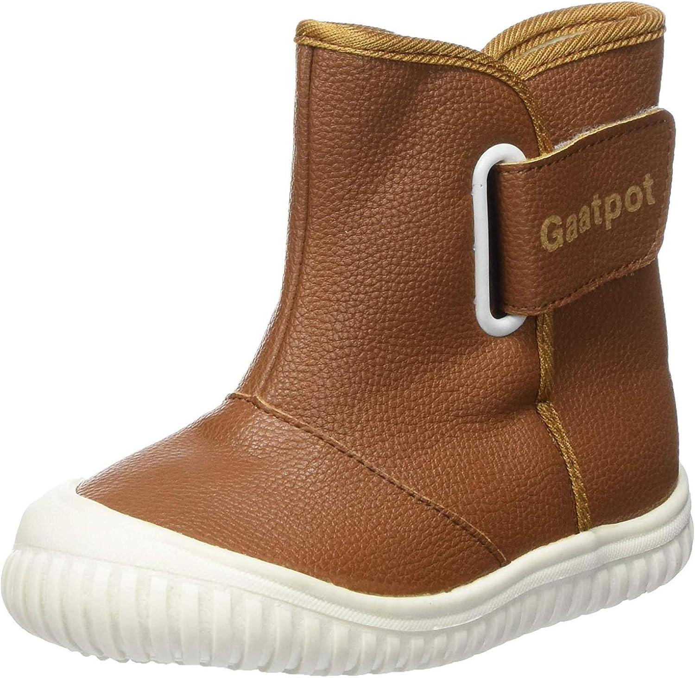 Gaatpot Baby Fur Lining Winter Boots Boys Girls Toddler Waterproof Warm Snow Boots