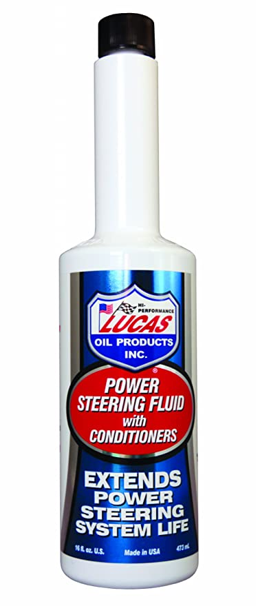 Lucas Oil 10442 16 Ounce Power Steering Fluid with Conditioners