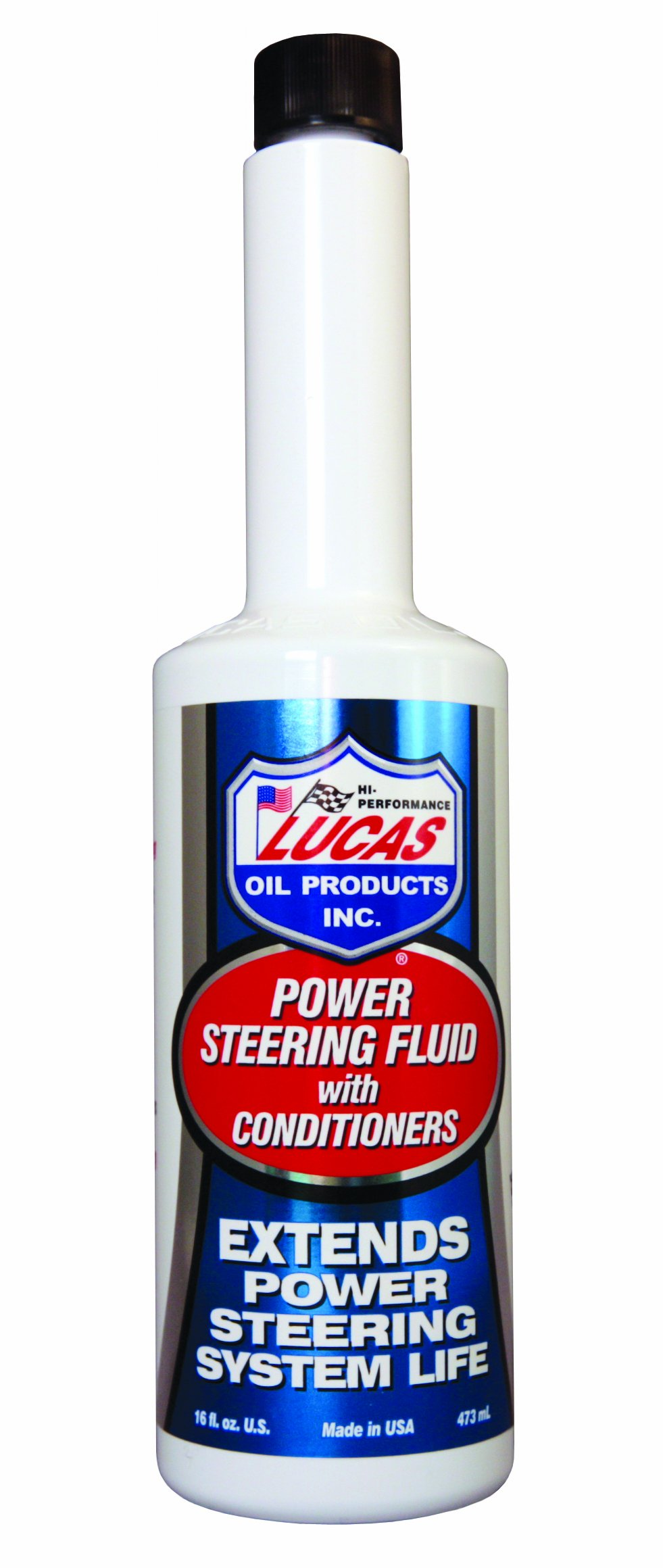 Lucas Oil 10442-12PK Power Steering Fluid with Conditioners - 16 oz., (Case of 12)