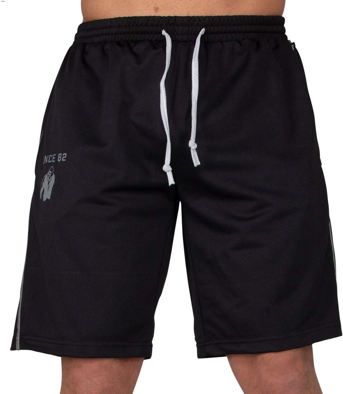 GORILLA WEAR Bodybuilder Hose Kurz Herren Functional Mesh Shorts Trainingsshort