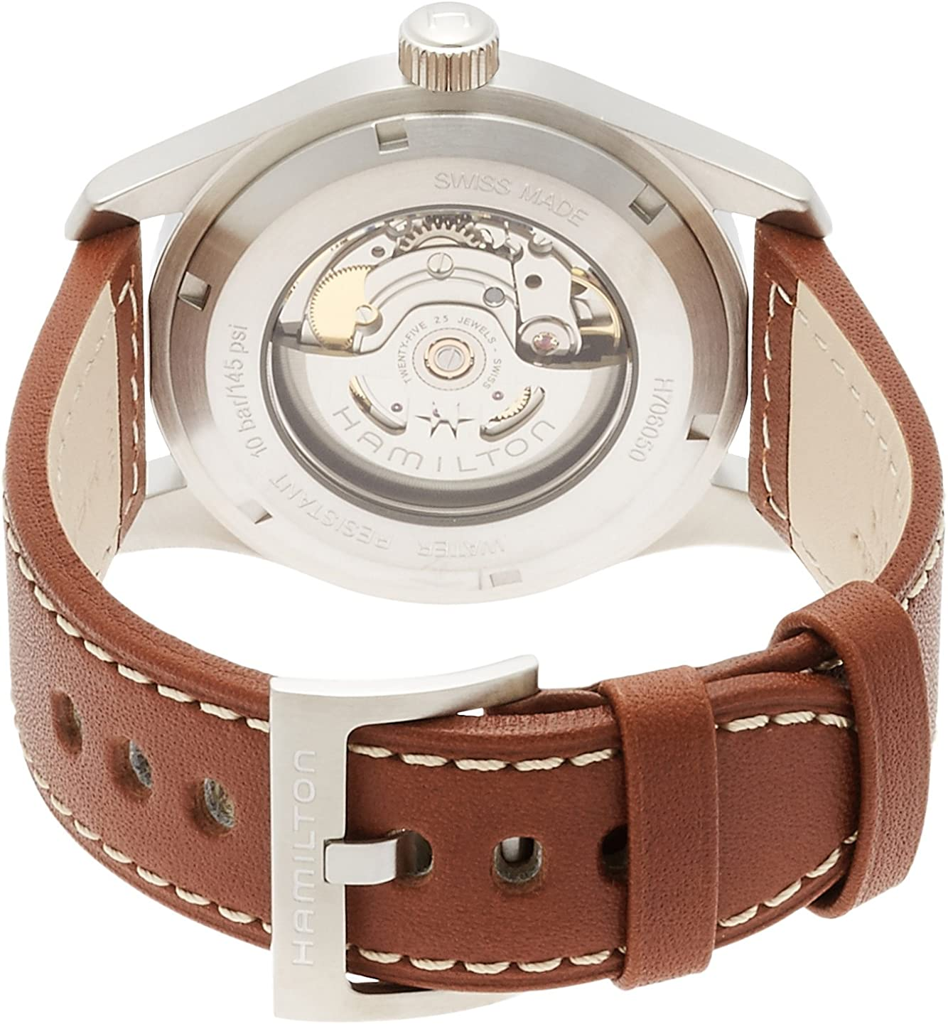 Hamilton Men s Khaki Field Auto Original watch H70555533_Orig