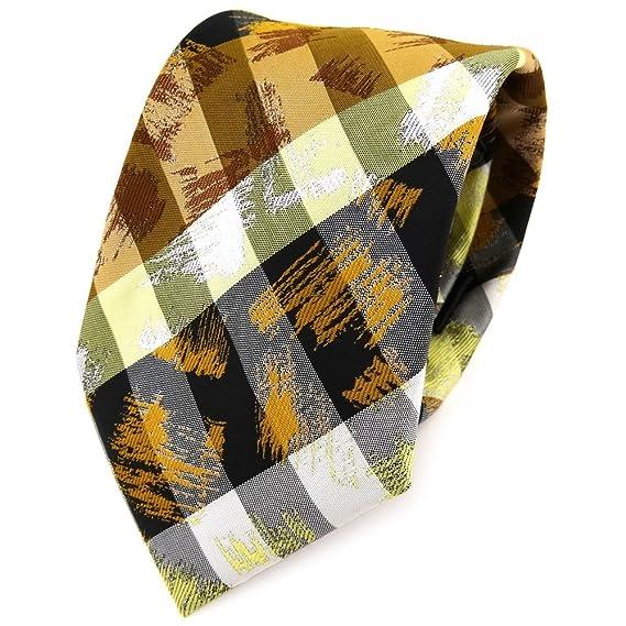 TigerTie - Corbata - amarillo naranja blanco gris olive negro ...