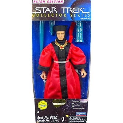 "Q Star Trek Collector's Series 9"" Figure: Toys & Games"
