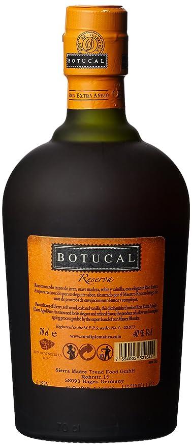 botucal reserva aa ejo 8 jahre rum 1 x 0 7 l amazon de bier wein spirituosen