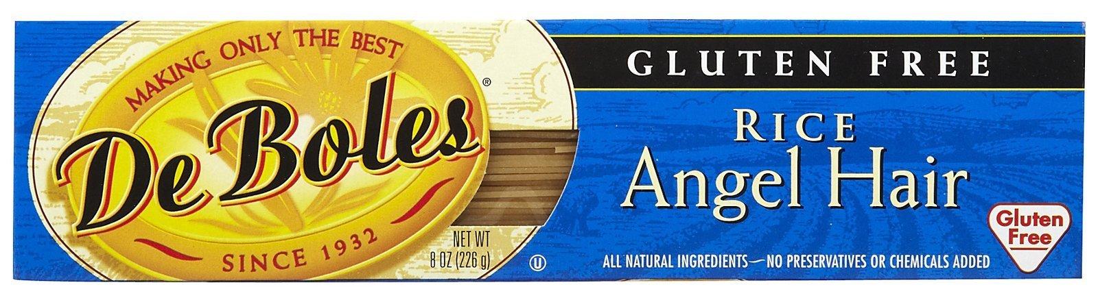 De Boles Gluten-Free Rice Angel Hair Pasta - 8 oz