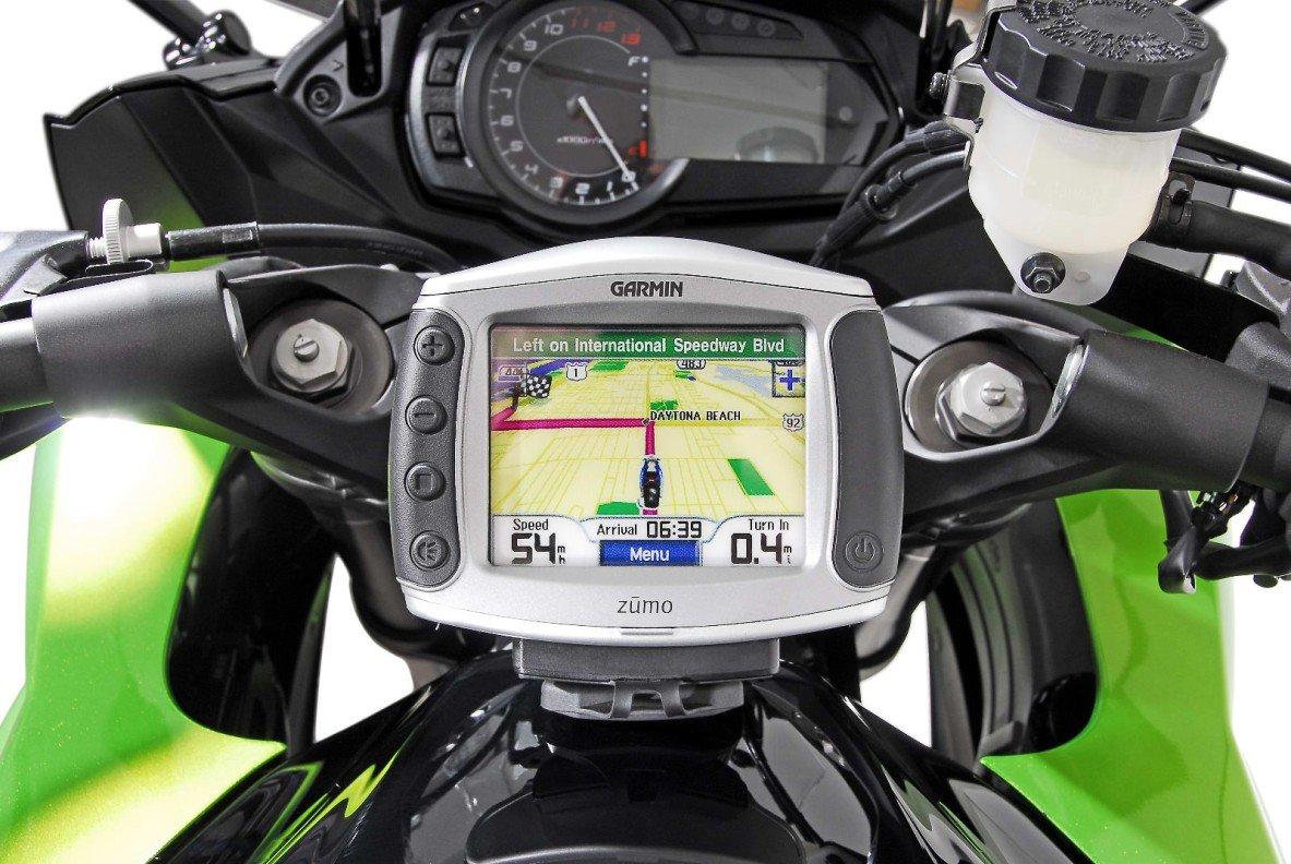 Instruments de Quick Lock GPS Support. Noir. Kawasaki Z 1000 SX [Automotive] SW-Motech GPS.08.646.10300/B