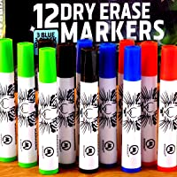 Excellent Dry Erase Markers for Whiteboard. Great Set, Gift for Kids, Adults! Perfect in Classroom and Office. Amazing…