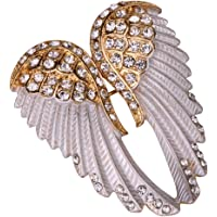 Angel Jewelry Women's Crystal Angel Wings Bling Pin Brooches Pendants