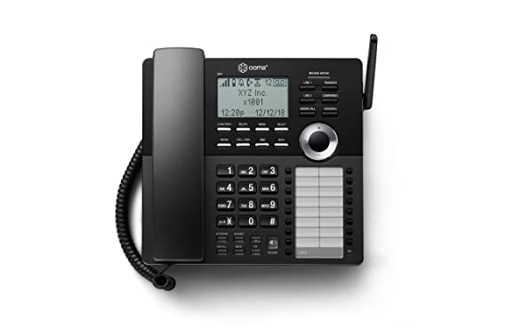 Ooma Office DP1-O Desk Phone – Place it almost anywhere and wirelessly  connect the phone to the Ooma Office Base Station
