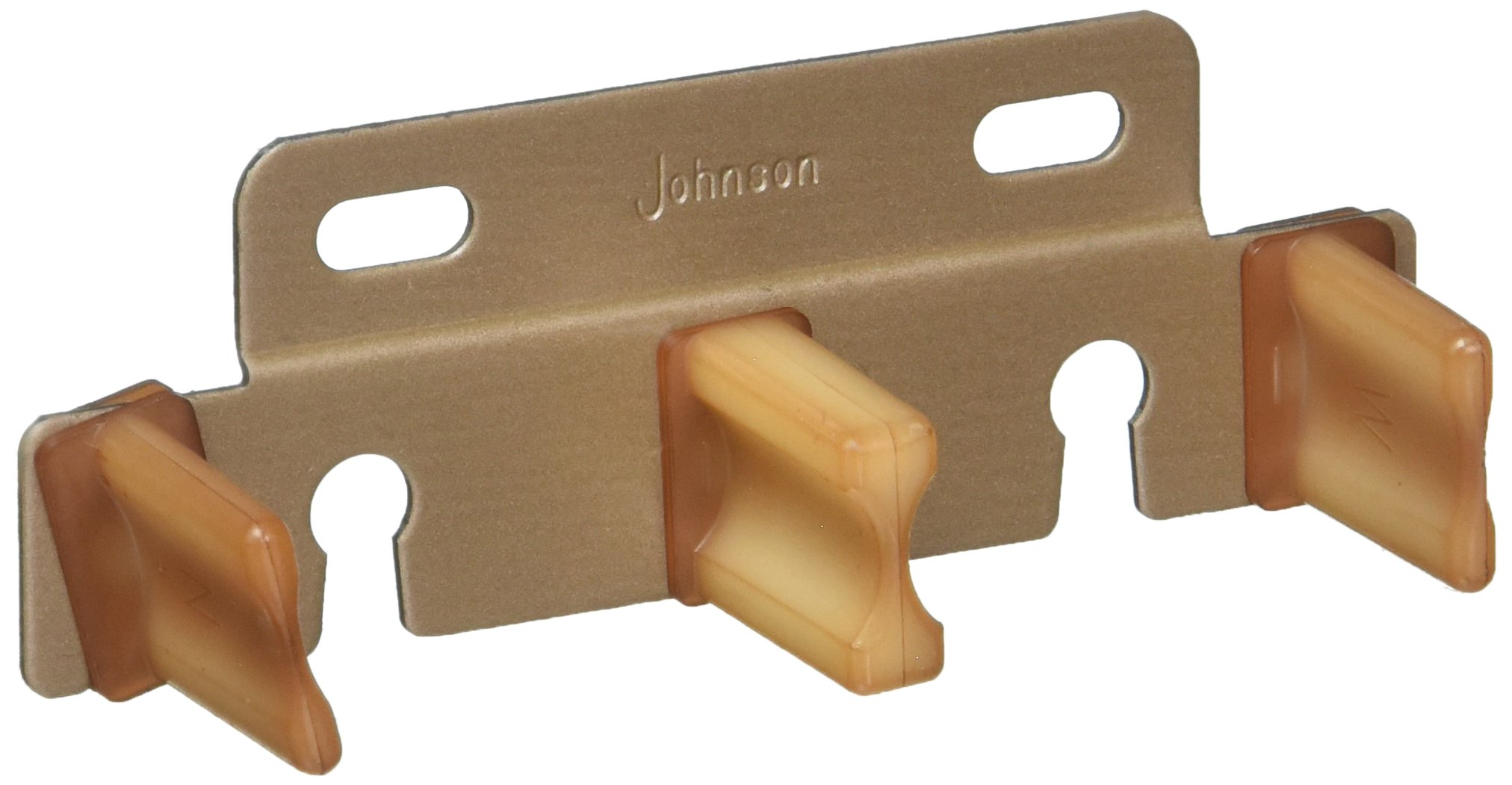 Johnson Hardware 2135PPK1 Bypass Door Adjustable Guide For 3/4-Inch Or 1-3/8 -Inch Doors