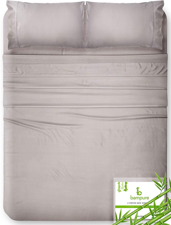 Bampure 100% Organic Bamboo Bed Sheets