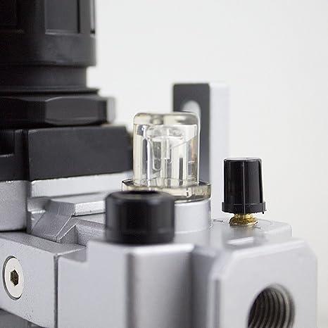 """oeler limitador de presión regulador de presión Unidad de mantenimiento 1//4/"""" separador"""